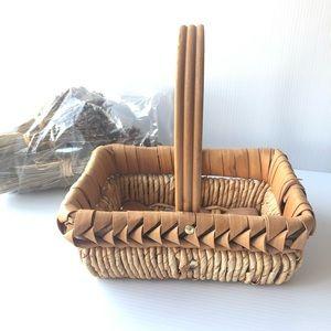 💝2/$20 Basket Decor Weave Wrap & Dried Lavender